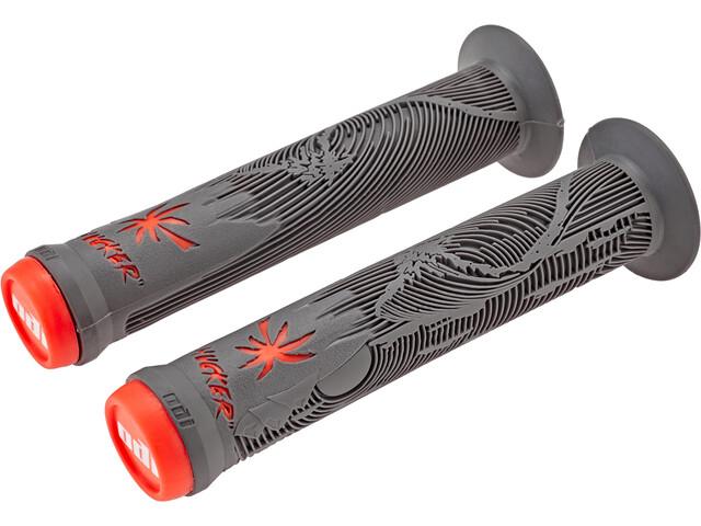 ODI Hucker Signature Handvatten, graphit-orange